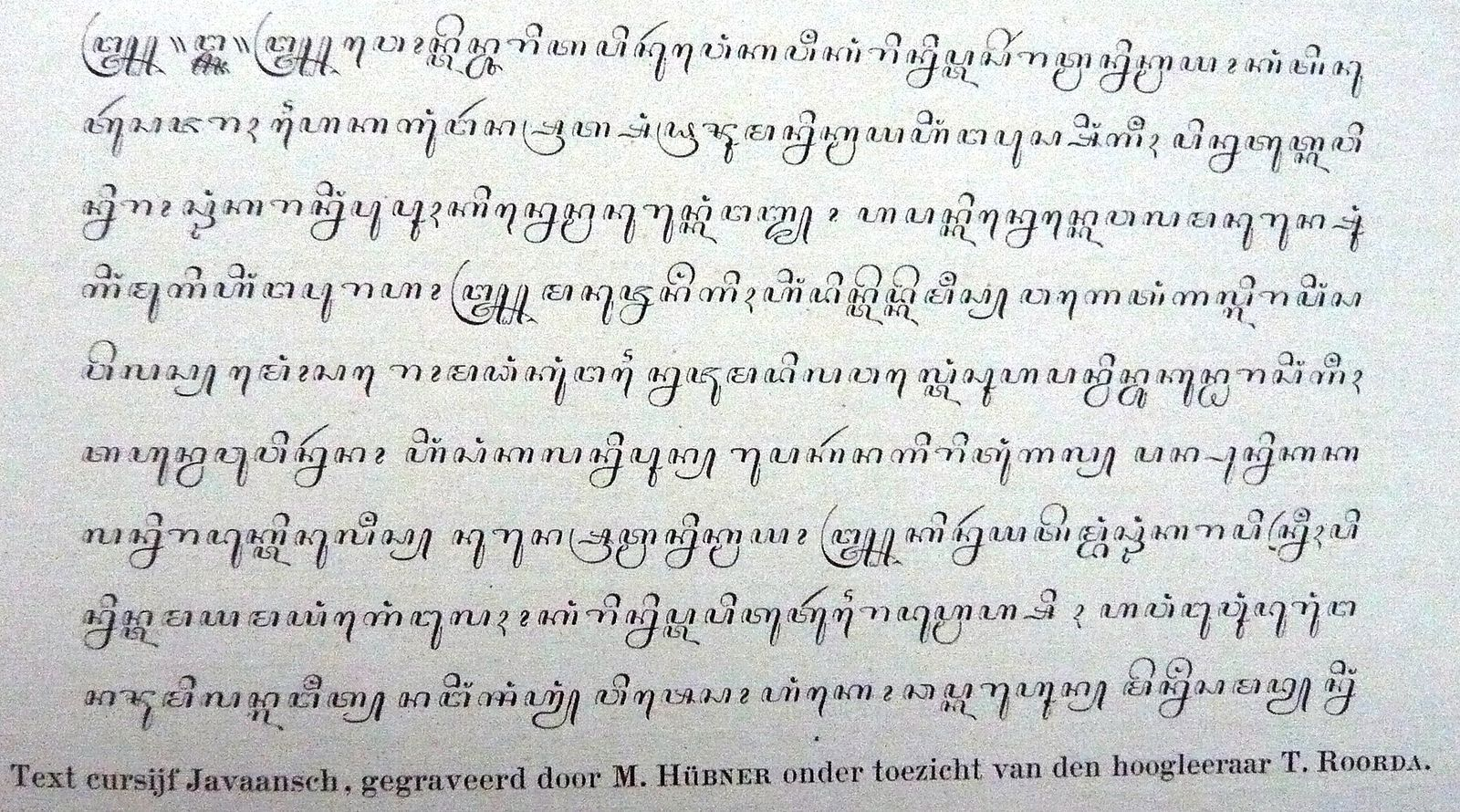 FileEnschedeJava letters Huruf Jawa by M Hubner and