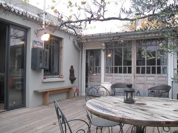 Magnifique loft style maison de famille exteriors maison jardin maison et la maison poetique - Idee interieur maison ...