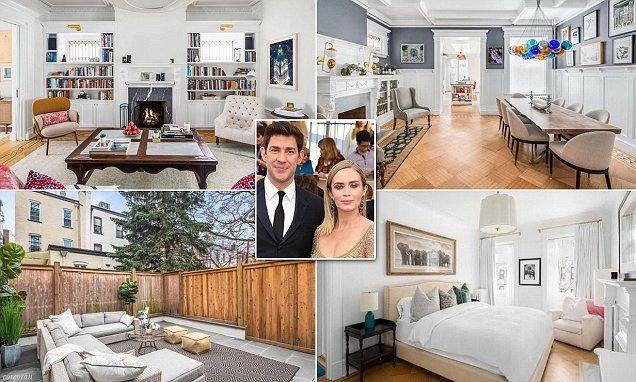 Emily Blunt and John Krasinski list $8 million Brooklyn ...
