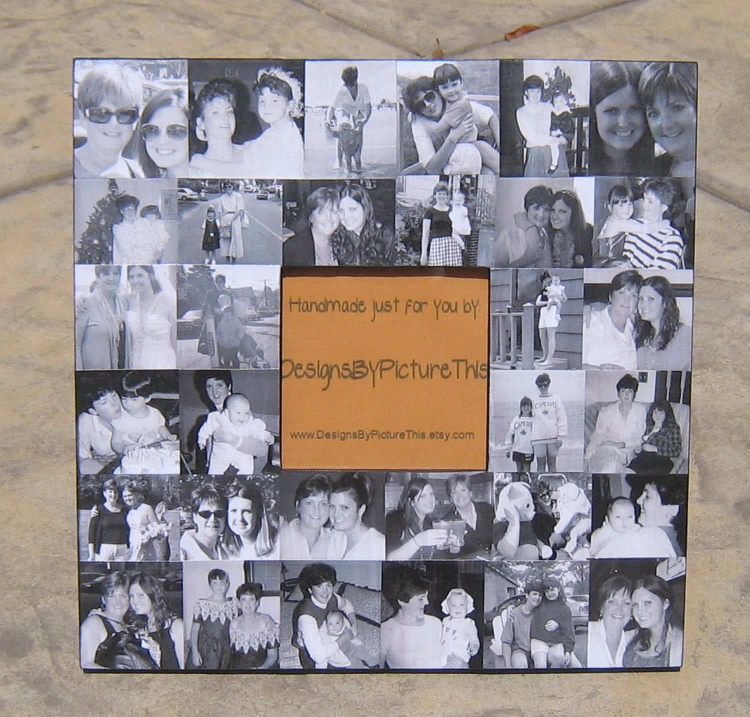 Affordable Wedding Gift: Personalized Wedding Gift For Parents, Collage Picture