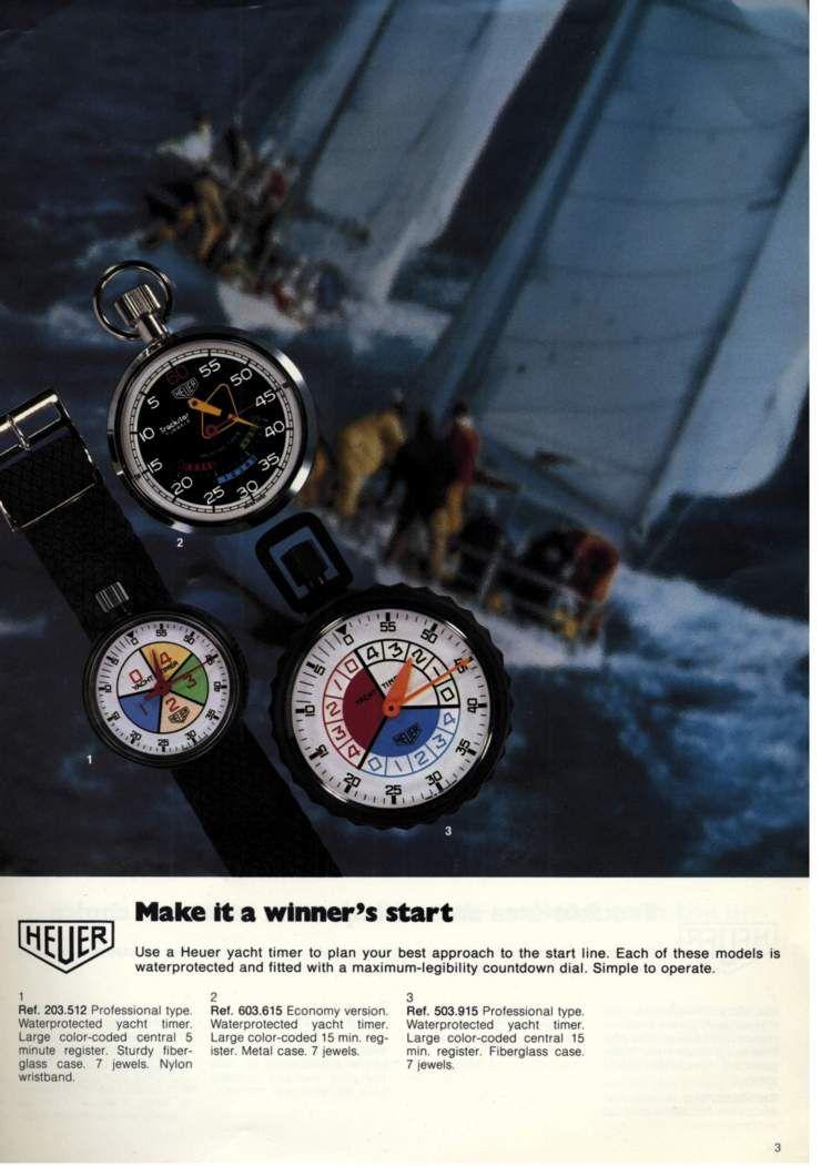 1980 Heuer Timer Catalog