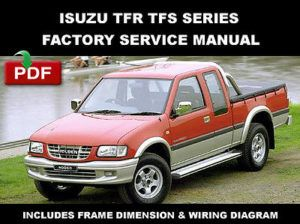 isuzu tfr tfs series 1997 2003 workshop service repair manual rh pinterest com Isuzu NPR Wiring Schematic Isuzu Rodeo Wiring Schematic