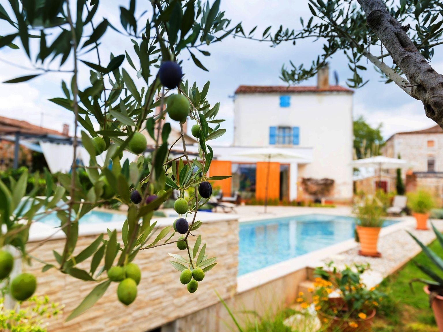 Ferienhaus Mit Pool In Kroatien Porec Villa Maxima Agri With 40 Sqm Private Pool 2 Bedrooms 2