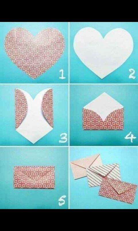 Herzumschlge  Zuknftige Projekte    Envelopes