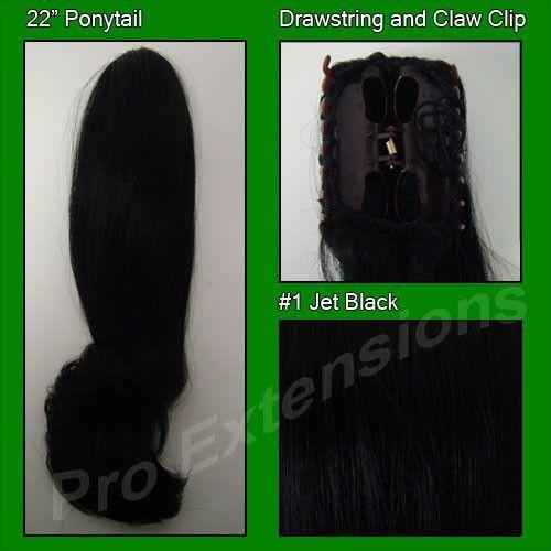 #1 Black Ponytail