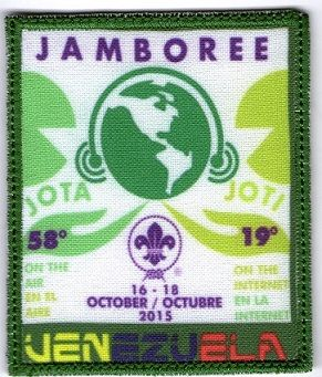 Disponible:1.    Jotajoti 2015, insignia sublimada.