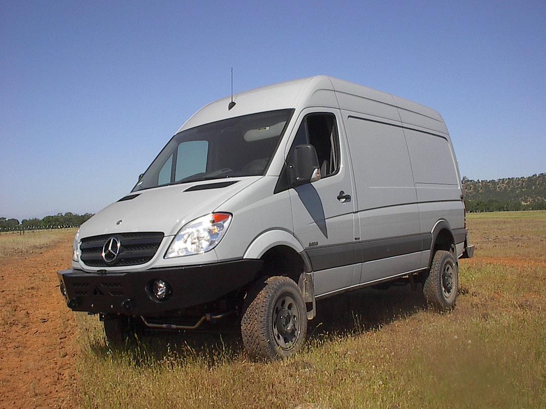 4 4 conversions sprinter dodge and ford vans for Mercedes benz sprinter conversion