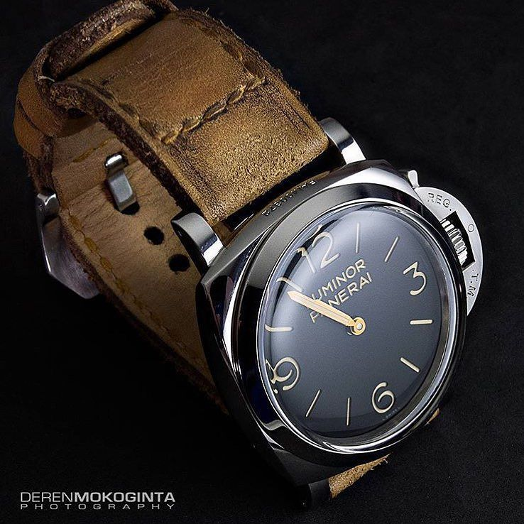 Caitlin 2 on Panerai 372 by @dmokoginta price for: $89.99 (899 ribu) without buckle by gunnystore