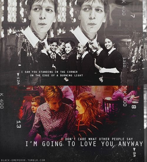 Fred Weasley And Hermione Granger Fan Art fred and george...