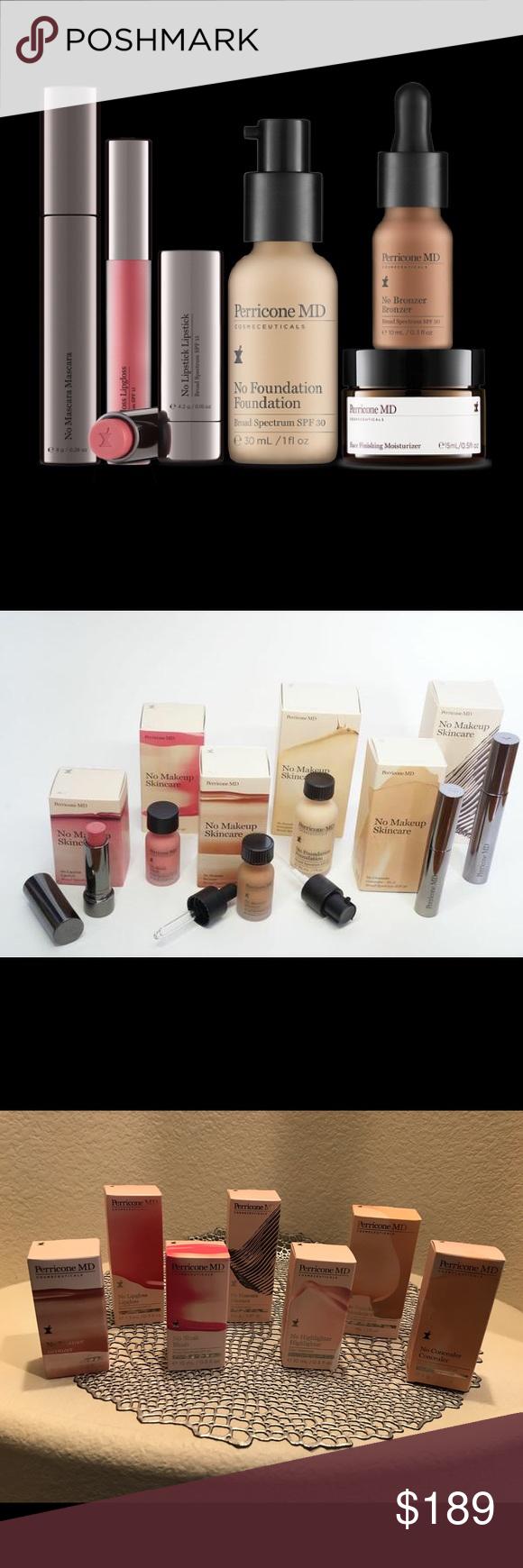 Perricone No Makeup Set Unopened brand new lipgloss