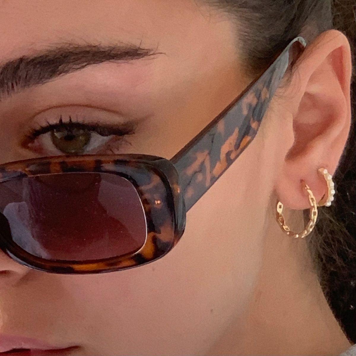Chainz Earrings (gold) – EVRYJEWELS