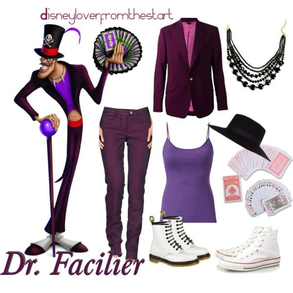 Dr. Facilier by disneyloverfromthestart on Polyvore -made this one myself :D