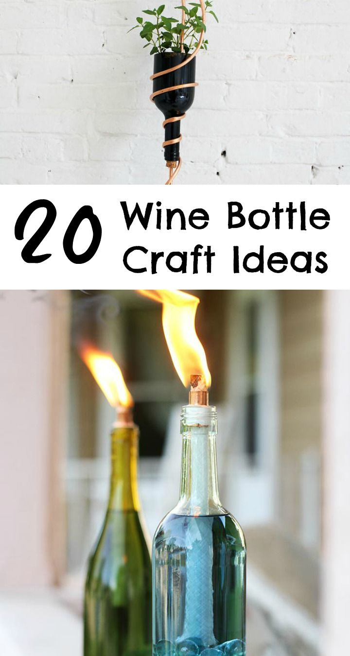 How To Decorate Wine Bottles 20 Wine Bottle Craft Ideas To Put Your Wine Bottles To Good Use