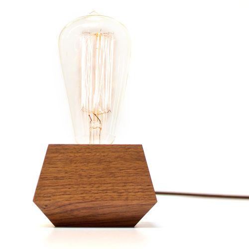 Wooden light bulb housing - Revolution Design House