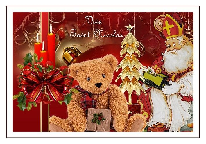 Favori Carte Saint Nicolas | Fête de Saint-Nicolas : cartes  NN79