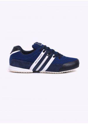 Y3 / Adidas Yohji Yamamoto Sprint Trainers Navy / Royal / White