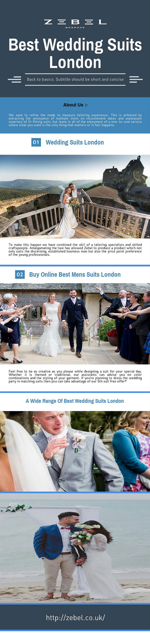 Get online wide collection of best wedding suits london devon