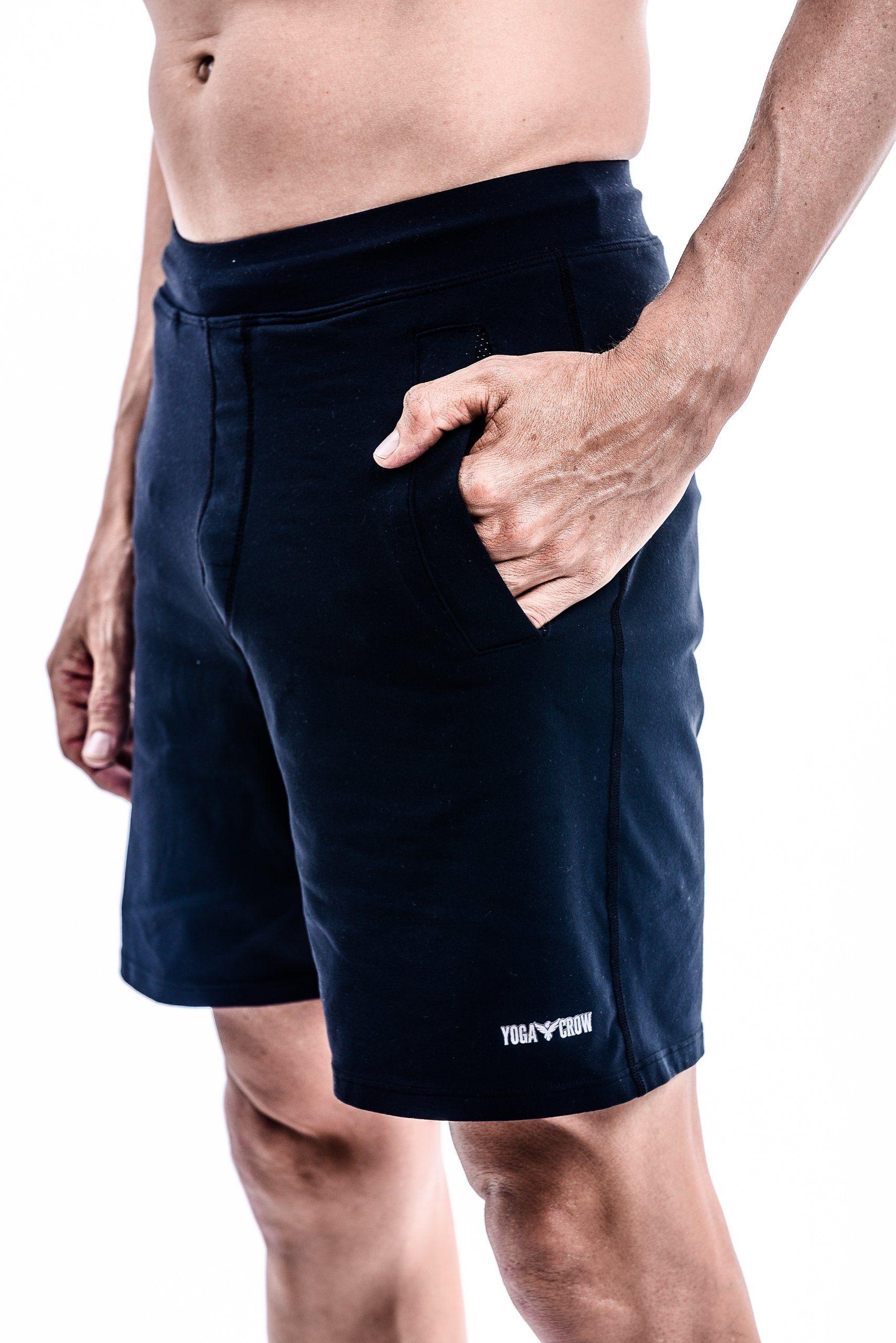 2ea6773561 Yoga Crow The Swerve Yoga Shorts - Black : THE SWERVE YOGA SHORT ...