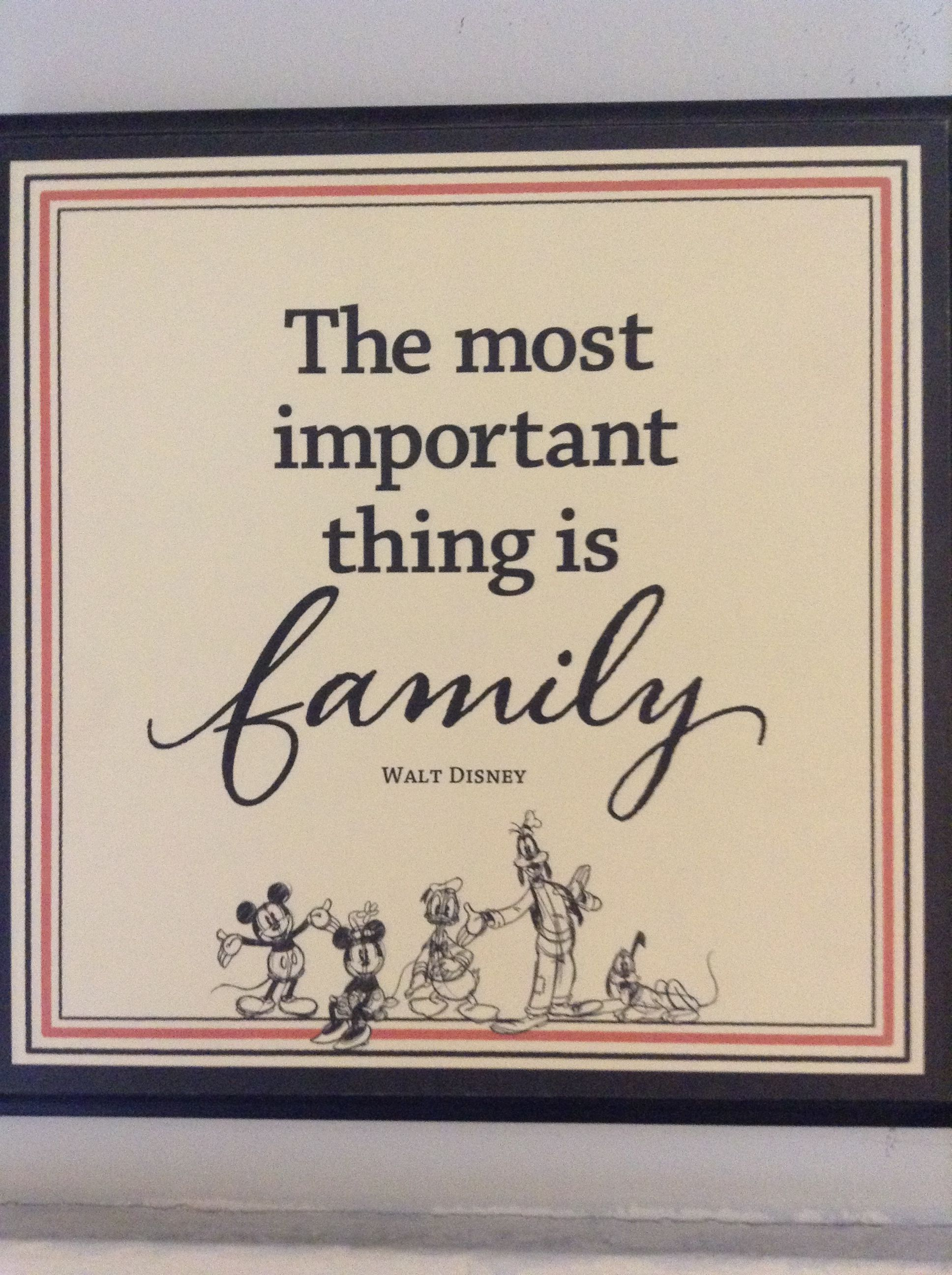 Disney Quotes About Family Walt Disney quotes   the most important thing is family. I like  Disney Quotes About Family
