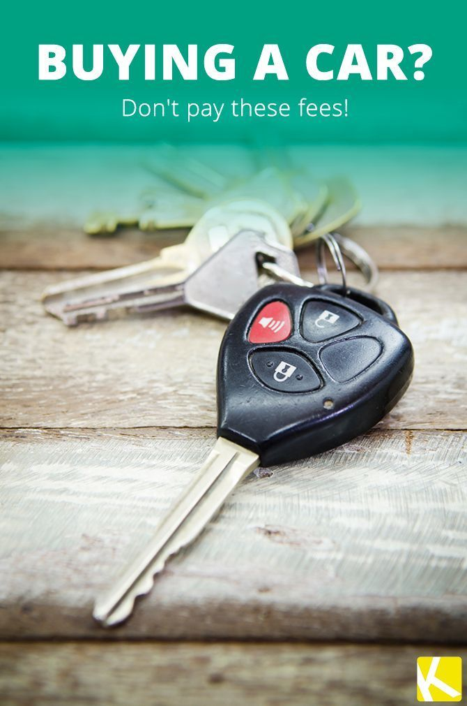 Fees You Should Never Pay When Buying a Car | Autos
