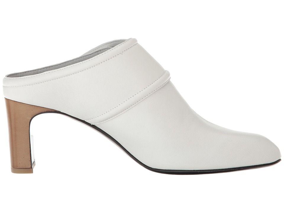 6306462dd0a64 rag & bone Elliot Mid Heel Women's Shoes White   Products   Heels ...