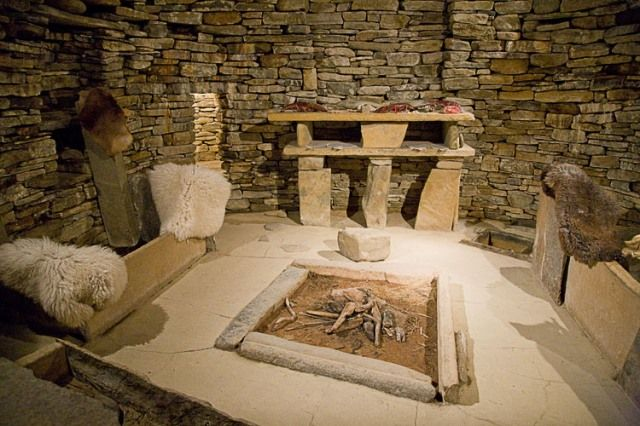 Prehistoric Furniture A Skara Brae Home Interior Design History Egyptian Furniture Mid Century Modern Interiors