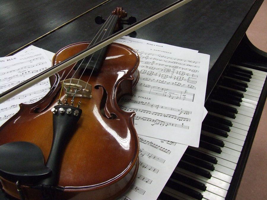Violin And Piano By Lonewolfsongdeviantart On DeviantArt