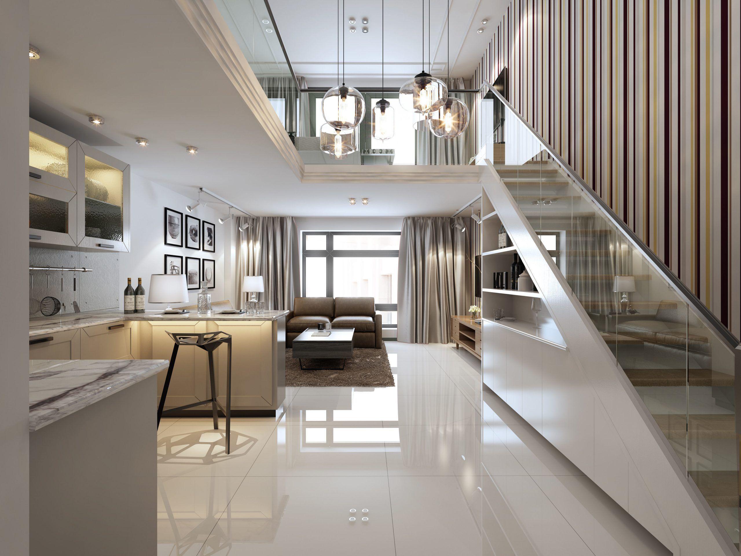 Modern European Living Room Design in 2020 | Living room ...