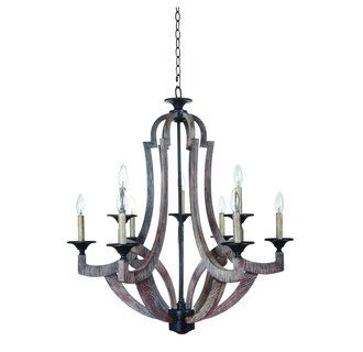 View The Jeremiah Lighting 35129 Winton Two Tier 9 Light Candle Style Chandelier 30 Inches