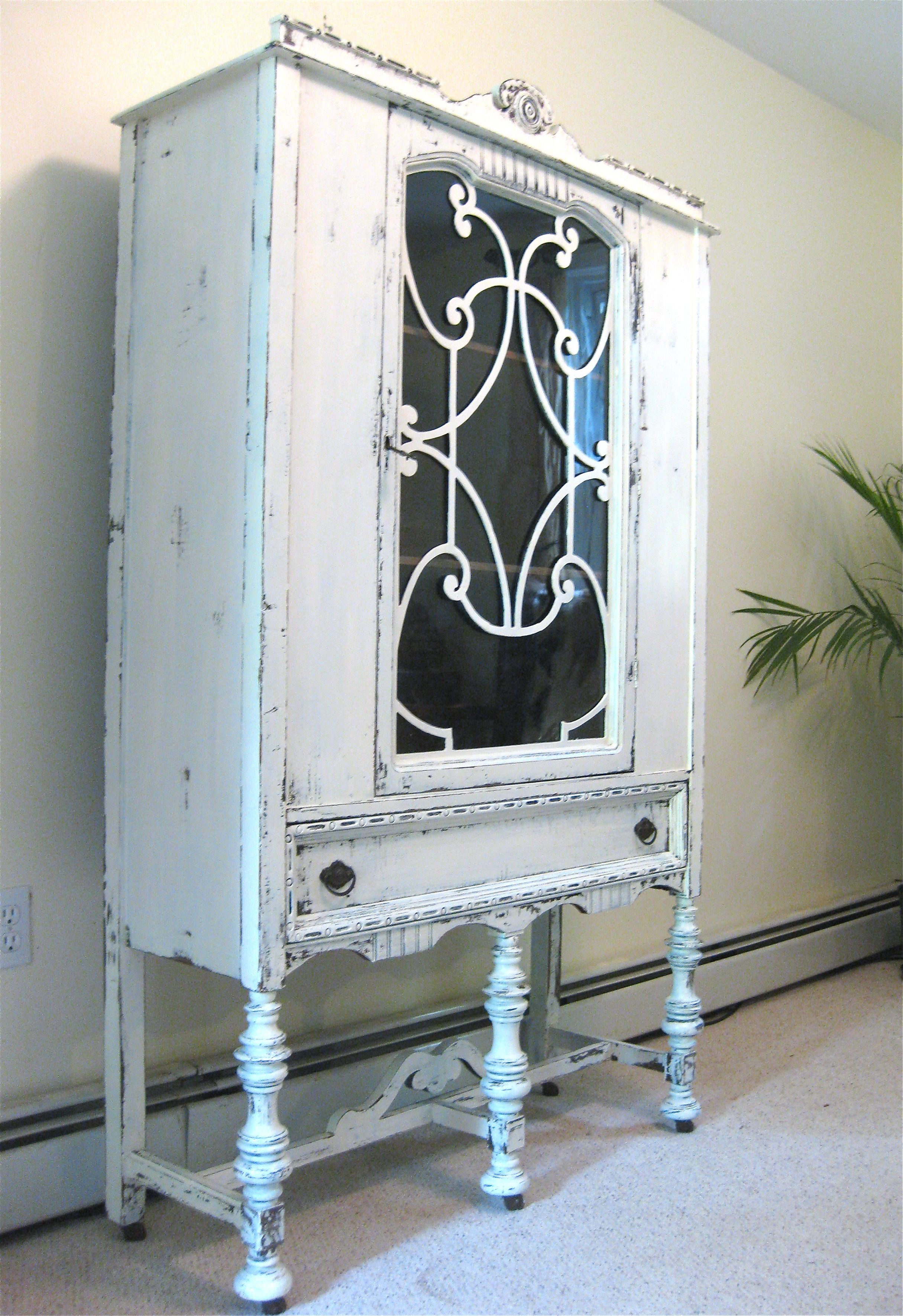 Pin On China Hutch Painted
