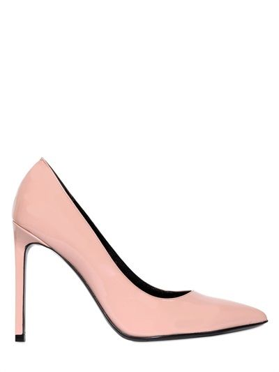 5e97004f86 Saint Laurent. 105MM PARIS PATENT LEATHER PUMPS