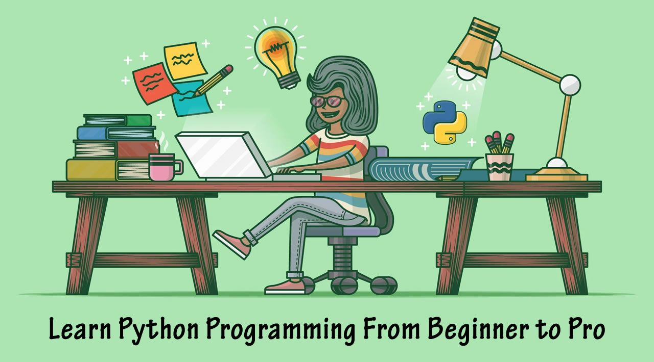 Learn python programming from beginner to pro python