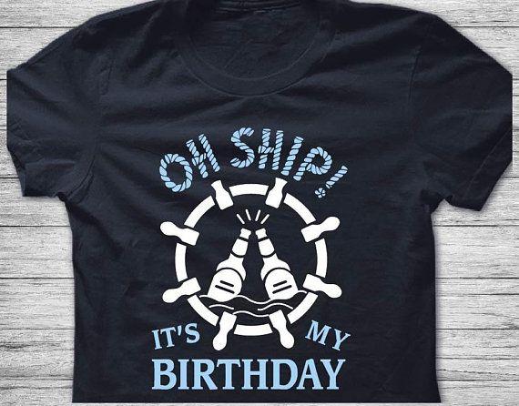 Cruise Shirts Mens Tank Top Birthday Shirt For Oh Ship Its My