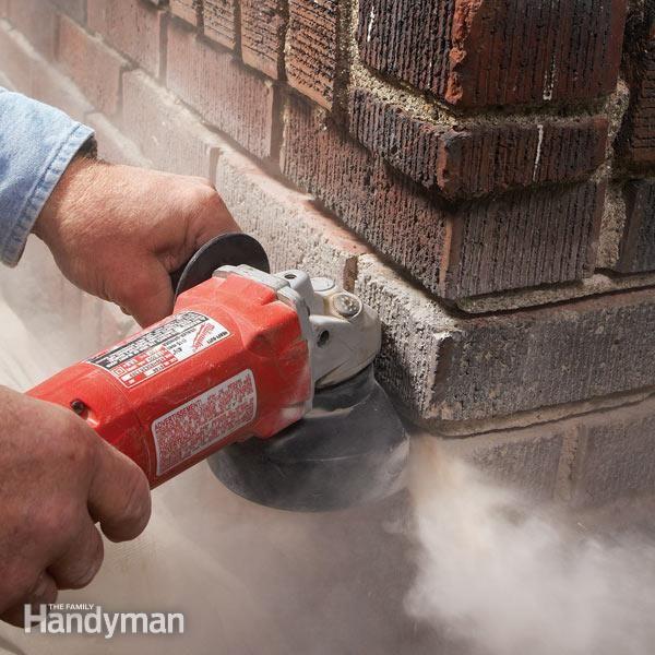 Masonry How To Repair Mortar Joints Diy Brick Repair