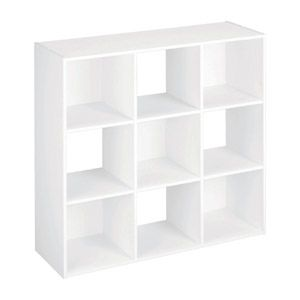 White 9 Cube Organiser Available With Different Colour Storage Boxes. Lovely  For My Little Girlu0027s
