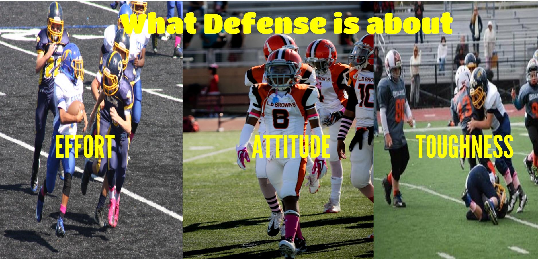 Football Defensive Philosophy Football Defense Football