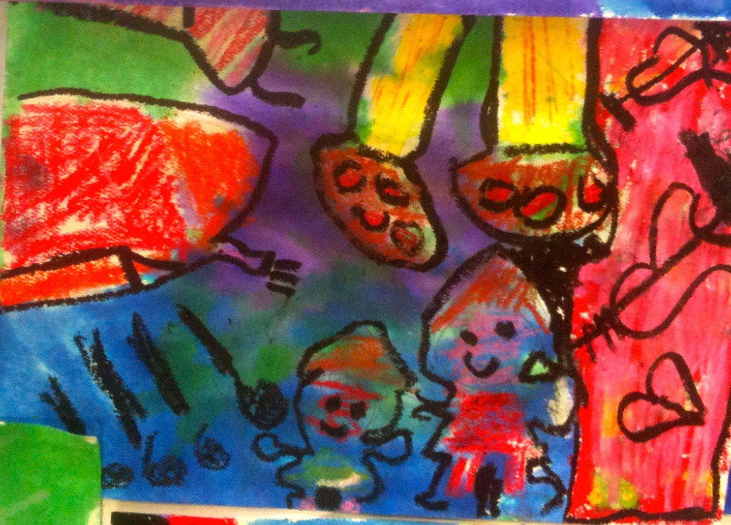 Warm And Cool Marc Chagall Imagination Kids Art Market