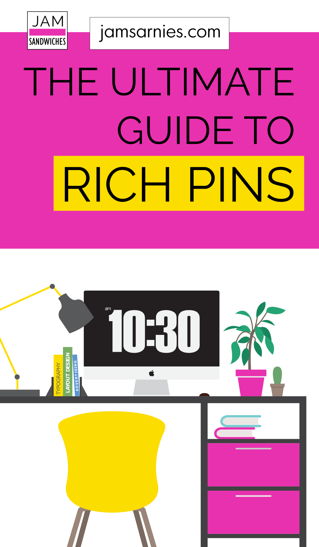 The ultimate guide on how to use rich pins for your WordPress site. Once you've set up your Pinterest business account, enabling rich pins is the next action you should take if you want to rock your Pinterest account. Click to find out everything you need to know about rich pins. #richpins #pinterest #pinterestmarketing #blogging