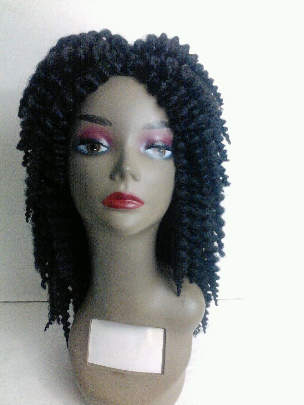 Handmade Curly Crochet Wig Ebay Link Wigs For Sale Short Curly