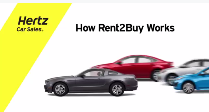 VIDEO Learn how Hertz Rent2Buy works. (With images