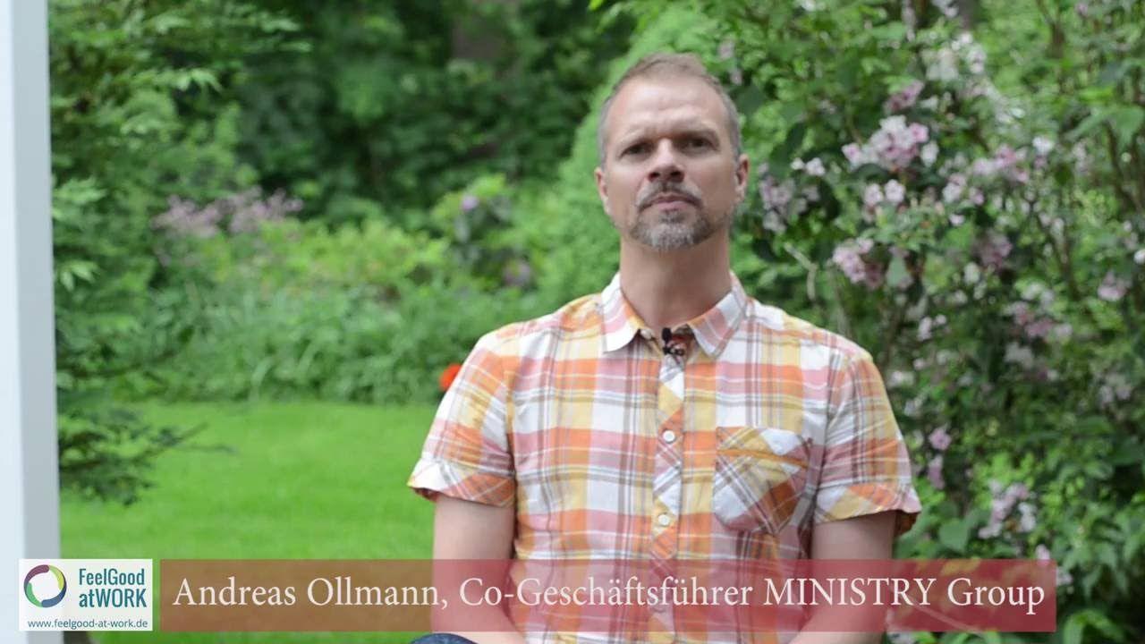#NewWork bei #Ministry - Andreas Vollmann über Widerstände auf dem Weg zu mehr Freiheit für die Mitarbeiter