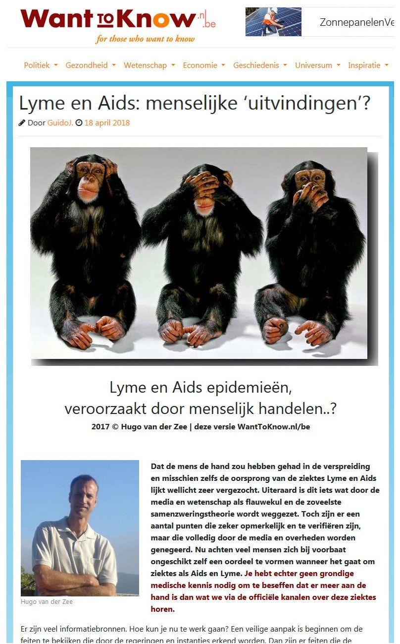 VSoverheid geeft toe 'Lyme als biowapen ontworpen