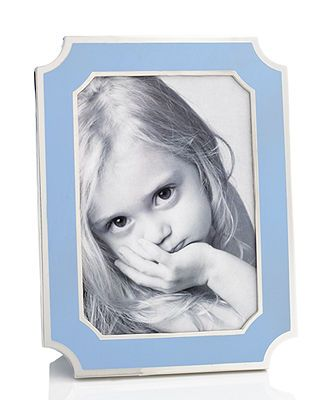Martha Stewart Collection Rimmed Enamel Frame, 5 x 7 - Picture ...