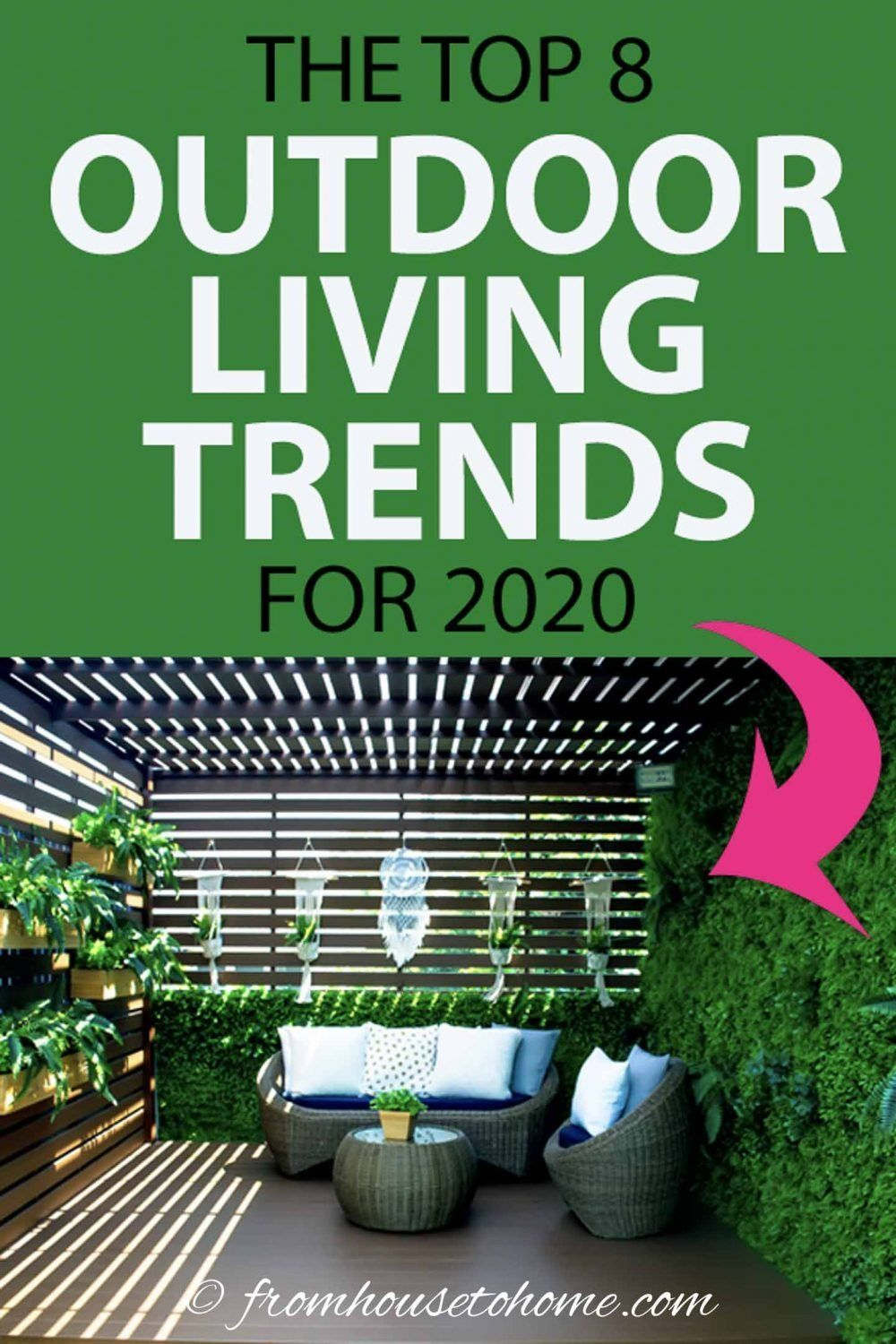 The Top 8 Outdoor Living Trends For 2020 | Rose garden ...