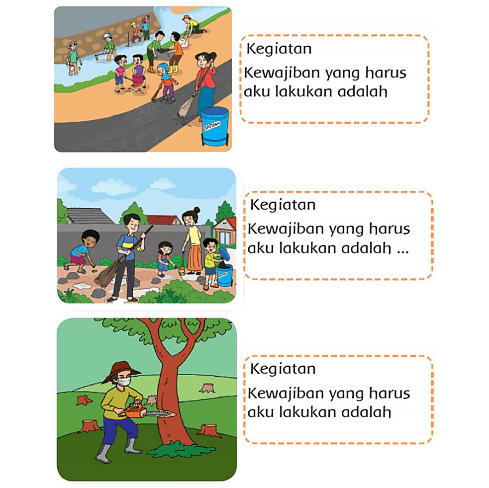 Kunci Jawaban Halaman 131 134 135 Tema 6 Kelas 3 Di 2021 Buku Buku Pelajaran Kunci
