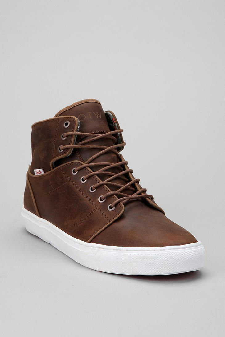 Vans Alomar Brown Black Men Sneaker Scarpe Uomo High Tops boots shoe