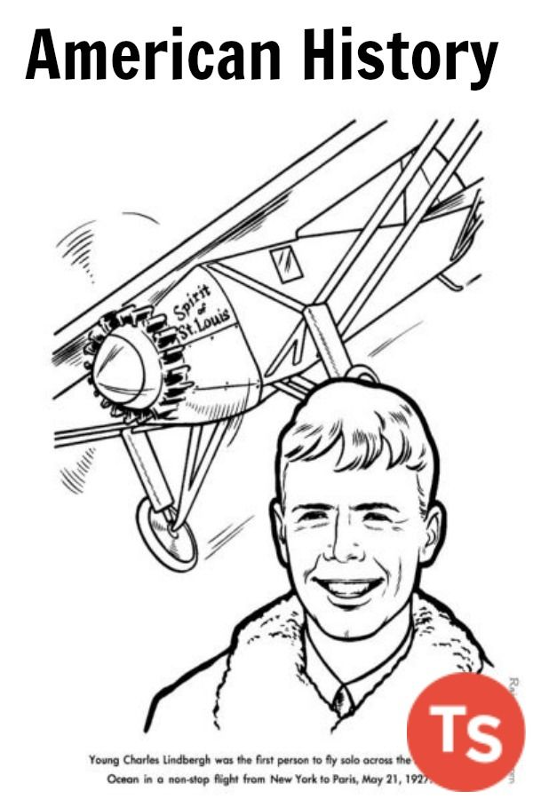 Ready-to-print America History Coloring Pages for kids