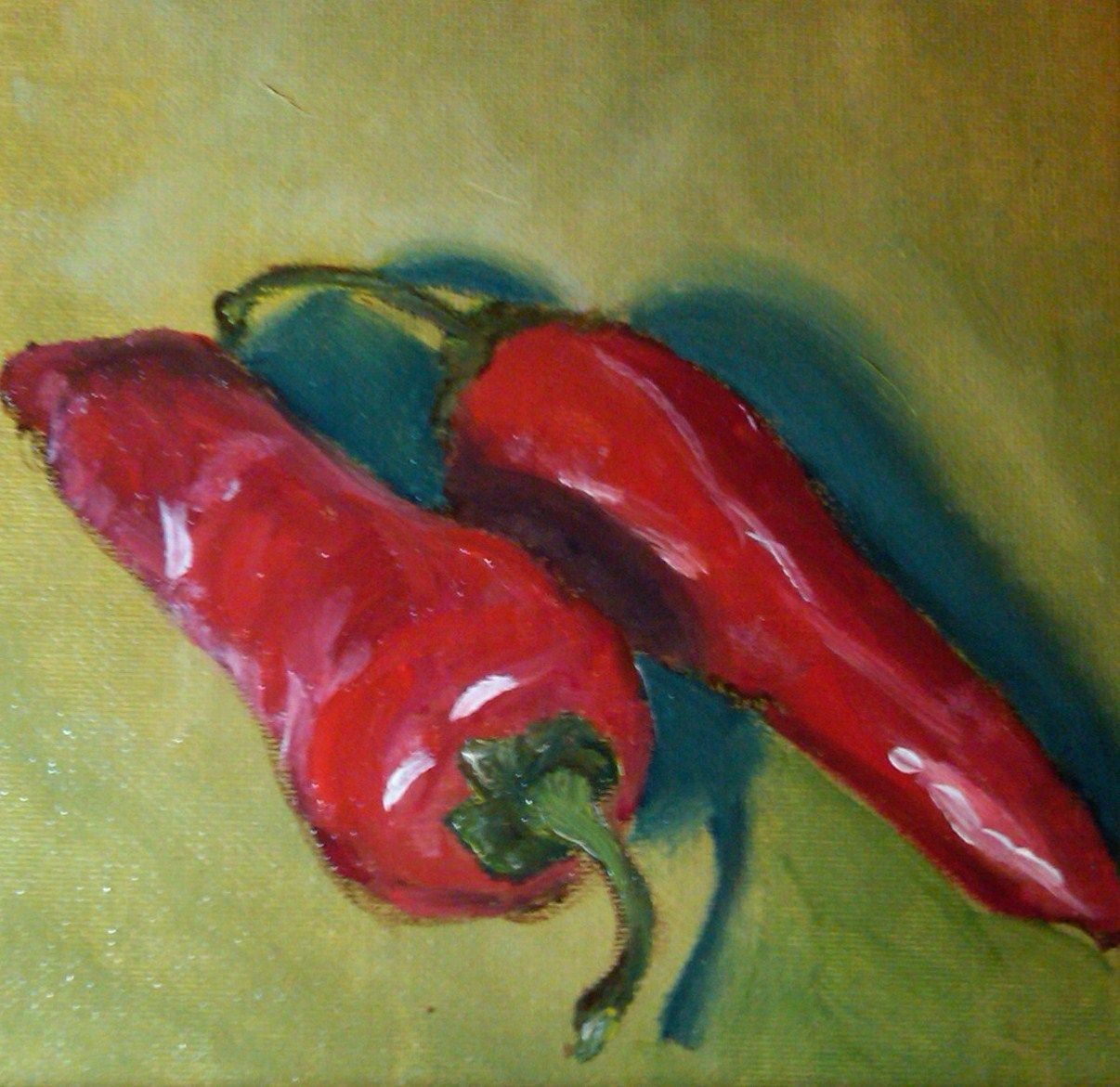 Paintings Of Chili Peppers Google Search Stuffed Peppers Red Hot Chili Peppers Vegetable Painting