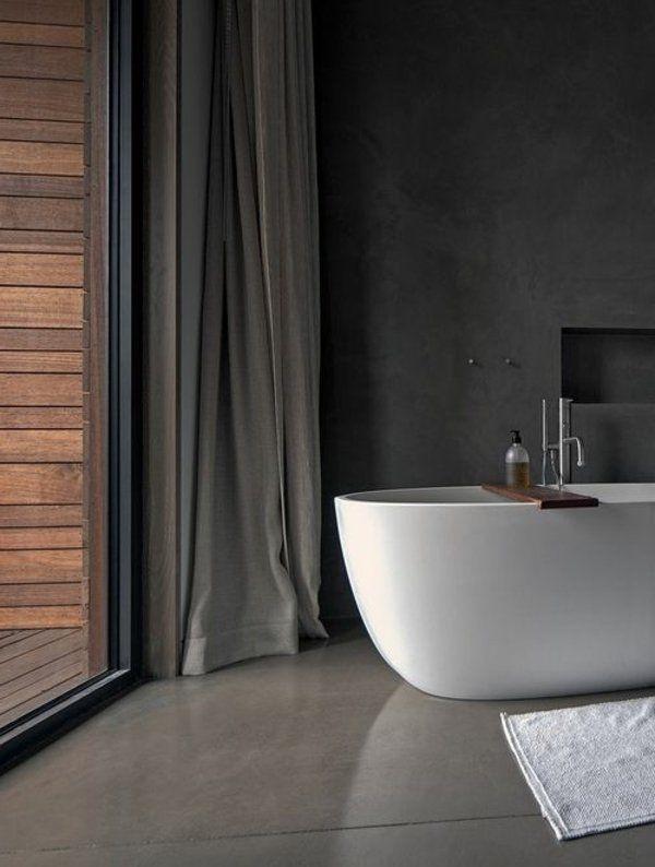 Wandfarbe für Badezimmer - moderne Vorschläge fürs Badezimmer ...
