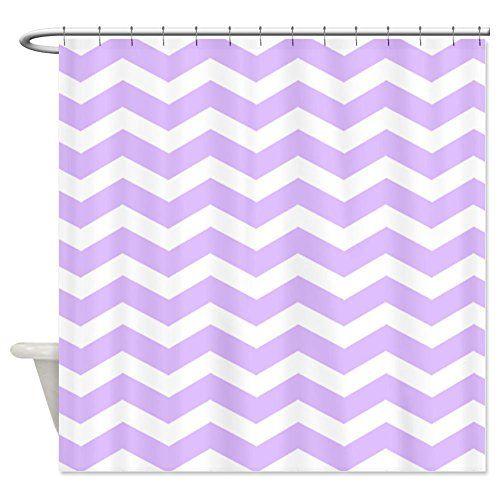Best Purple Chevron Shower Curtain | Purple Chevron Shower Curtain ...